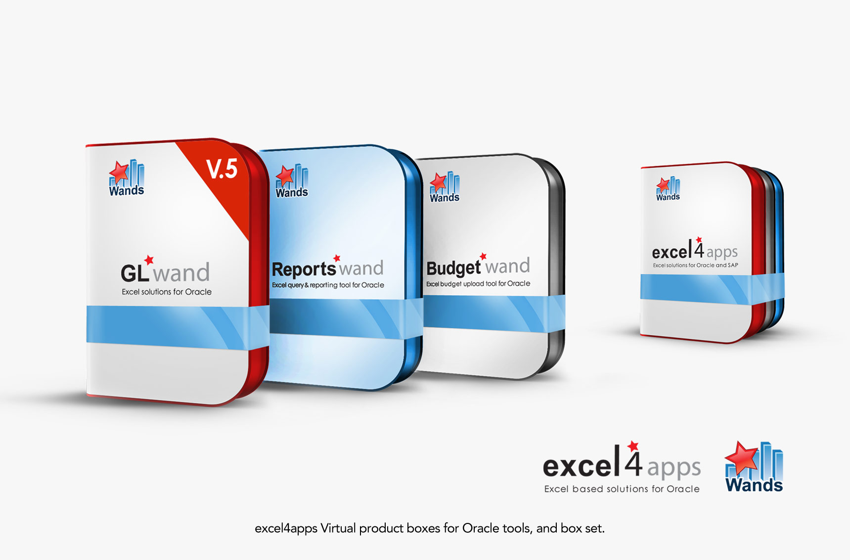 Excel4apps Virtual Product boxes 3D Photo illustration