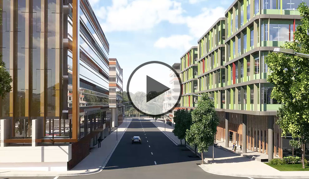 Murray Rose Office Park Virtual Tour - Creative 3D Perspectives Animation