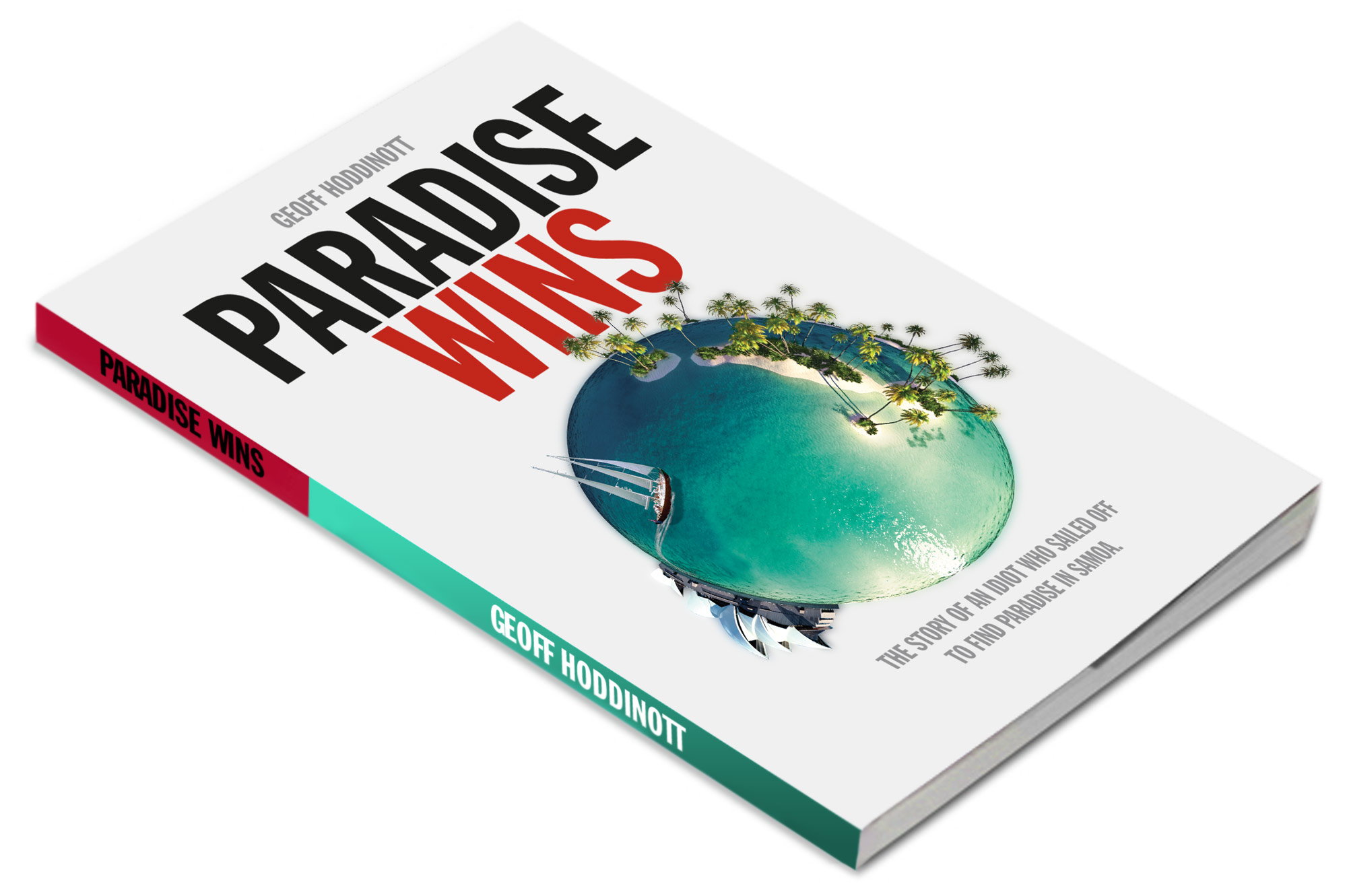 Stephen Wright Paradise Paradise Wins Book Cover Design